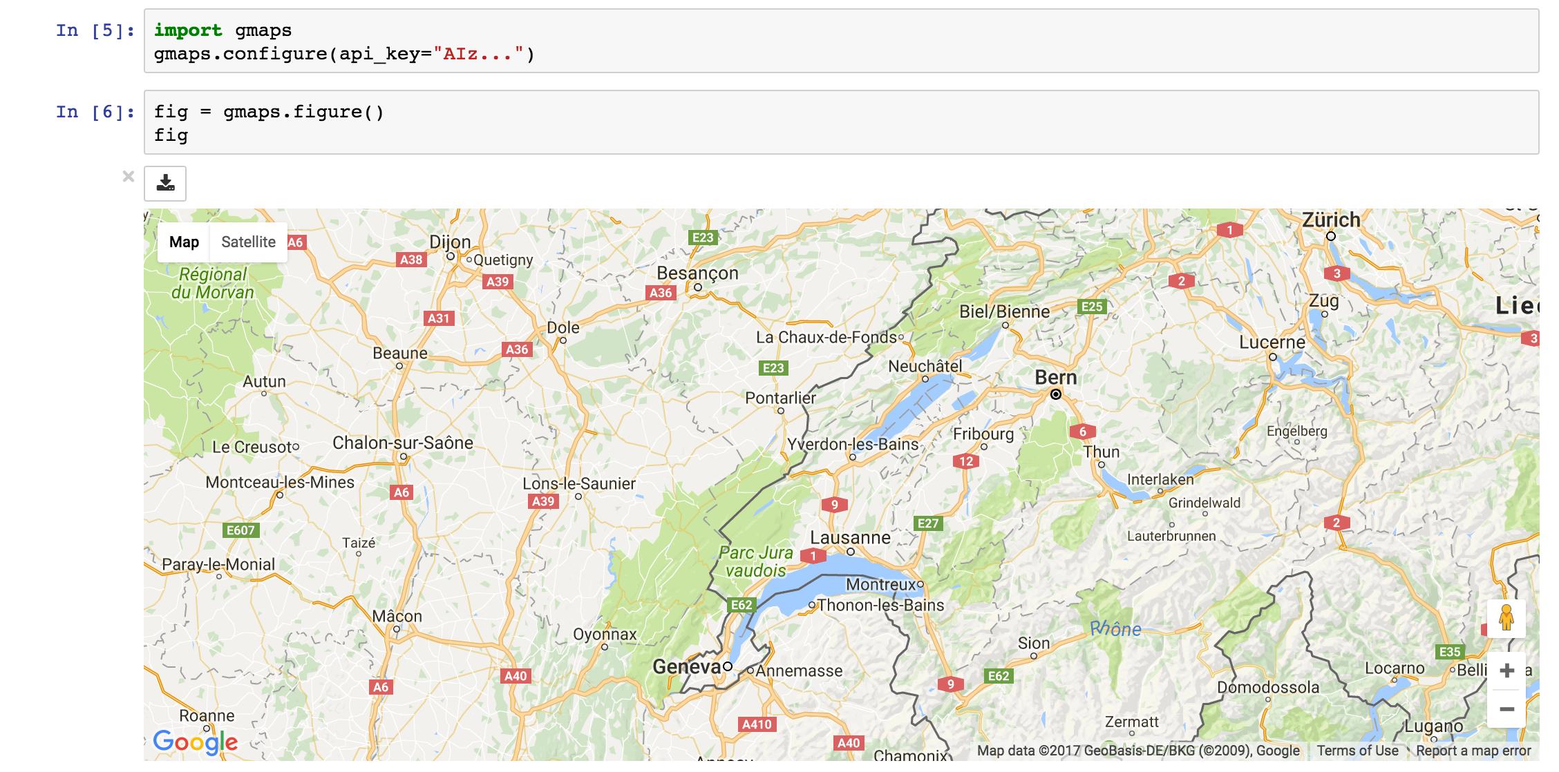 Getting started — gmaps 0 8 3-dev documentation